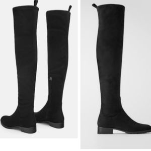 Zara over the knee boots NWT